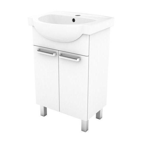 Szafka z umywalką Koło Freja 55 cm biała, L79004000