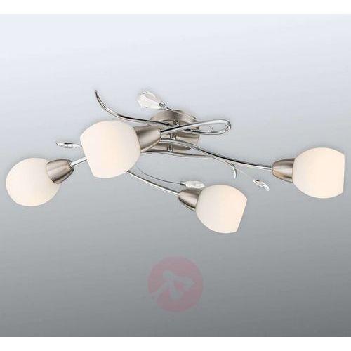 Globo lilly lampa sufitowa nikiel matowy, chrom, 4-punktowe marki Oświetlenie globo