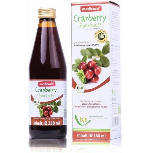 Medicura naturprodukte ag Bio żurawina (330 ml) medicura