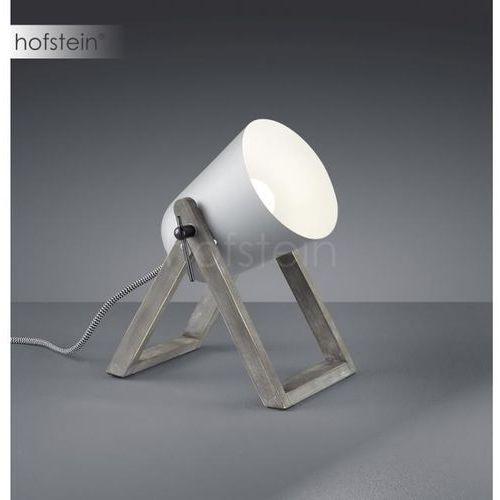 Reality marc lampa stołowa siwy, 1-punktowy - nowoczesny - obszar wewnętrzny - marc - czas dostawy: od 6-10 dni roboczych (4017807369625)