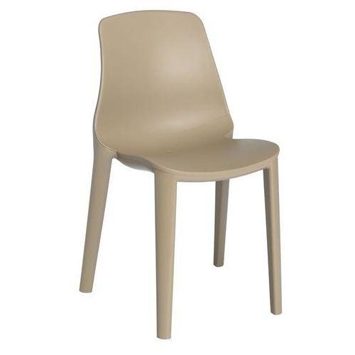 Krzesło Lyza beżowe, kolor beżowy