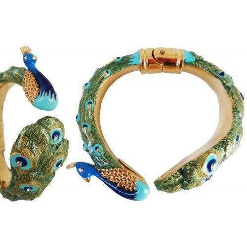 Mosiężna bransoletka br k18 - peacock bracelet marki Pasotti