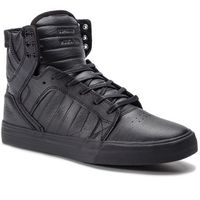 Sneakersy - skytop 08174-081-m black/black/red, Supra, 40-45