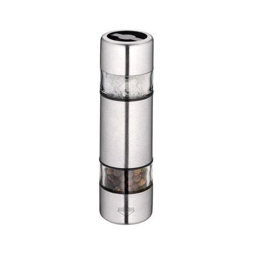 Podwójny młynek do soli i pieprzu 10,5 cm Kuchenprofi Sydney stalowy