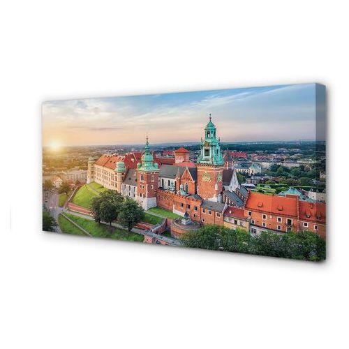 Obrazy na płótnie kraków zamek panorama wschód słońca marki Tulup.pl