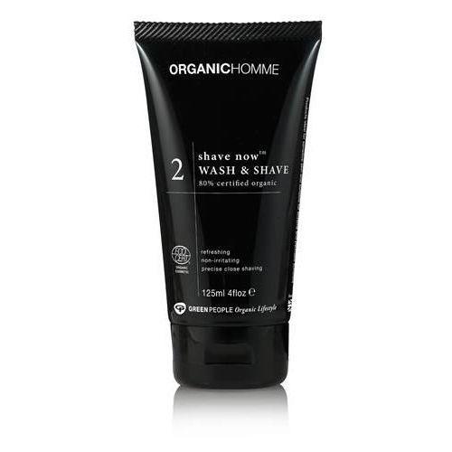 Green people Shave now żel do mycia twarzy i golenia dla mężczyzn 125ml
