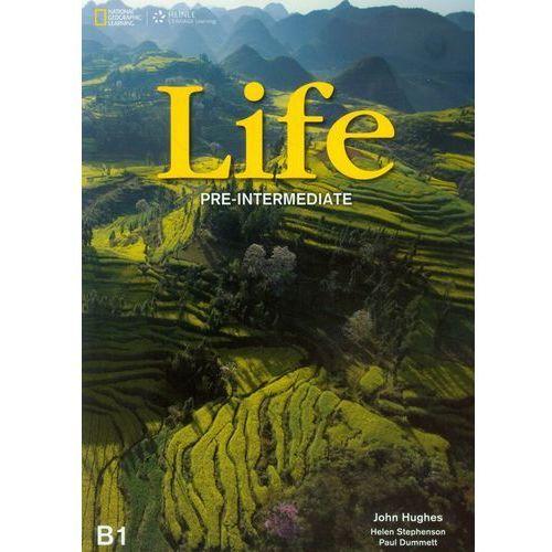 Life Pre-intermediate Student's Book with DVD, oprawa miękka