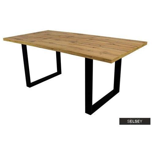 Selsey stół rozkładany lameca 160-210x90 cm dąb wotan (5903025366258)