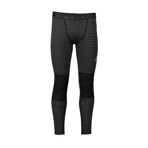 Spodnie - guard pant black herringbone (950) rozmiar: l marki Clwr