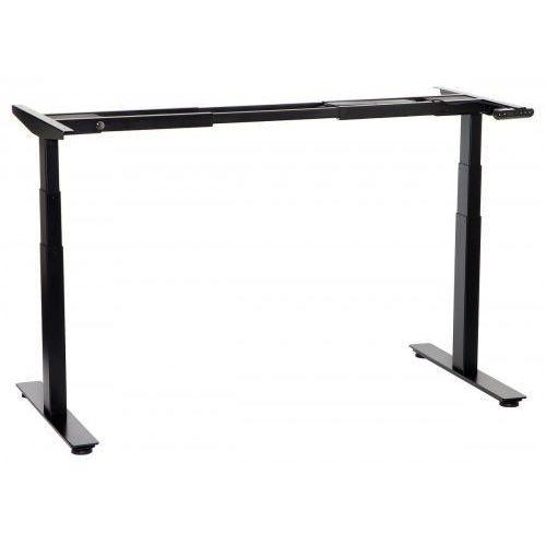 Stema-sun Dwusilnikowy stelaż metalowy biurka (stołu) z elektryczną regulacją wysokości, elektryczny, a103-2/t2/b, kolor czarny