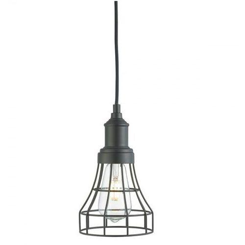 6836 lampa wisząca tapered cage czarna marki Searchlight