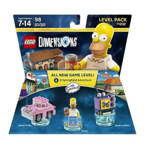 LEGO DIMENSIONS - THE SIMPSONS LEVEL PACK 71202