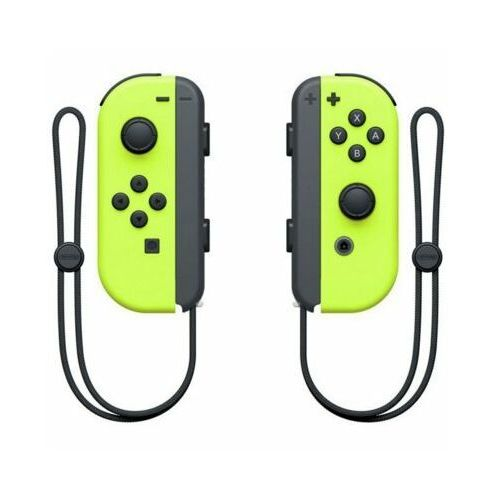 Kontroler joy-con pair neon darmowy transport marki Nintendo