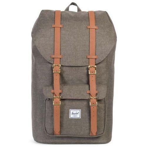 Herschel Little America Plecak brązowy 2018 Plecaki szkolne i turystyczne, kolor brązowy