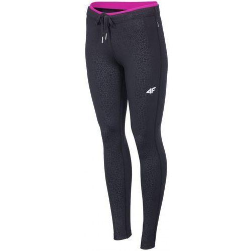Damskie spodnie fitness t4z16 spdf002 czarny l marki 4f