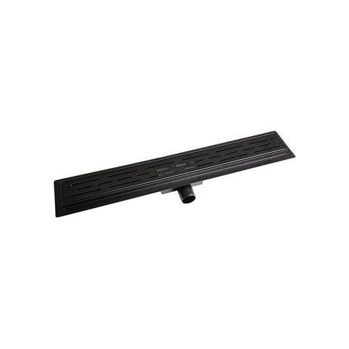 Odpływ liniowy line black 60 czarny matowy marki Breezz