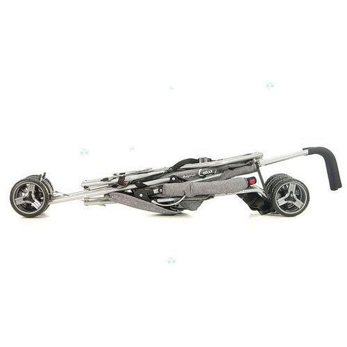 OKAZJA - Spacerówka wózek spacerowy moby-system barton szary #g1 marki Kidz-motion