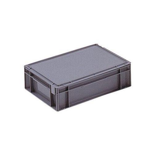 Pojemnik wg euronormy, poj. 10 l, dł. x szer. x wys. 400x300x129 mm, od 1 szt. z marki Schoeller allibert