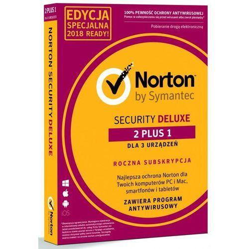 NORTON SECURITY DELUXE 3.0 PL 3D/12M 2+1 PROMO CARD (5397039349084)