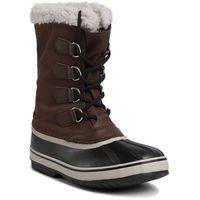 Śniegowce SOREL - 1964 Pac Nylon NM3487 Tobacco/Black 256, kolor brązowy