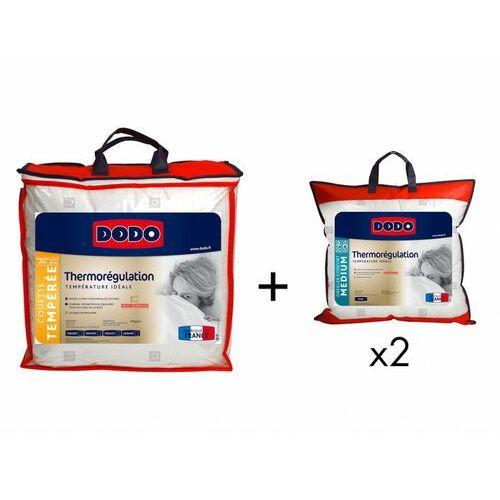 Dodo Zestaw kołdra 220 x 240 cm + 2 poduszki thermo rÉgulation 60 x 60 cm