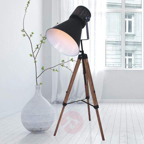 Steinhauer Hoody Lampa Stojąca Czarny, 1-punktowy - Nowoczesny - Obszar wewnętrzny - Hoody - Czas dostawy: od 6-10 dni roboczych (8712746116793)
