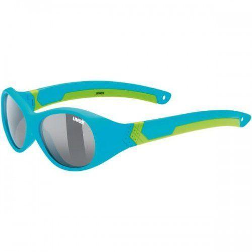 UVEX okulary dziecięce Sportstyle 510 (S3) blue green mat (niebiesko zielony mat) z szybą smoke