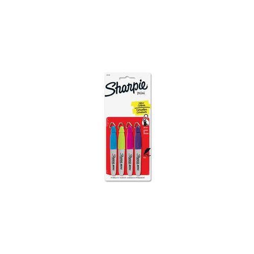 Sharpie Mini Marker permanentny Fash 4 kol, SAN35108PP
