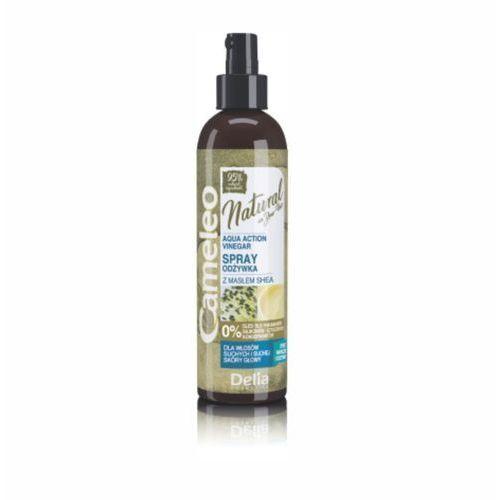cosmetics cameleo natural aqua action odżywka-spray octowy nawilżający 200ml marki Delia