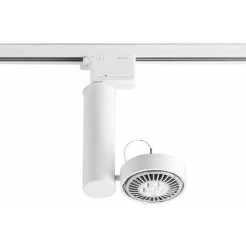 Reflektorek LAMPA sufitowa NATORI 7693 Shilo metalowa OPRAWA regulowana do 3-fazowego systemu szynowego biała