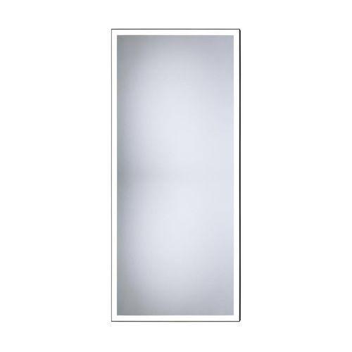 Lustro łazienkowe z oświetleniem wbudowanym SOLID 50 x 100 DUBIEL VITRUM, kolor biały