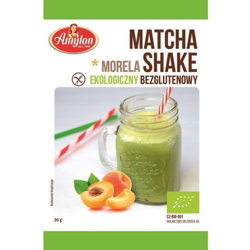 SHAKE MATCHA W PROSZKU Z MORELAMI BIO 30 g - AMYLON