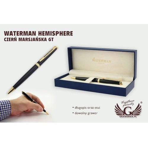 Długopis WATERMAN HEMISPHERE - czerń marsjańska GT