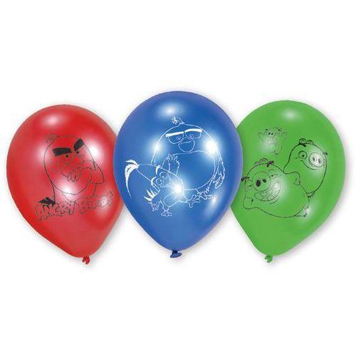 Amscan Balony urodzinowe angry birds movie - 24 cm - 6 szt. (0013051643010)