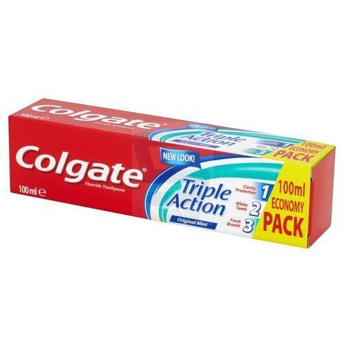 Colgate Pasta do zębów Triple Action Original Mint 100ml - sprawdź w wybranym sklepie