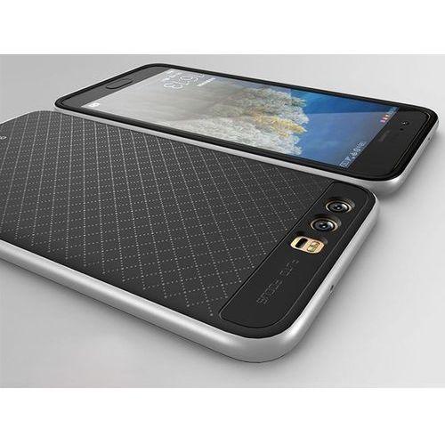 Etui iPaky Premium Hybrid Huawei P10 Grey + Szkło