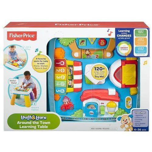 Fisher Price Ucz się i śmiej Stolik interaktywny z kategorii Pozostałe zabawki