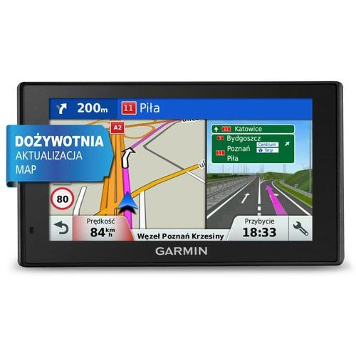 Garmin DriveSmart 60 LM, mapy: Europa
