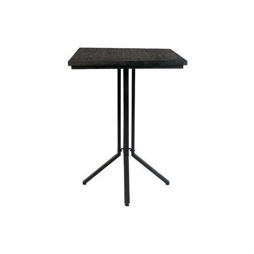 stolik barowy maze kwadratowy czarny 2500008 marki Orange line