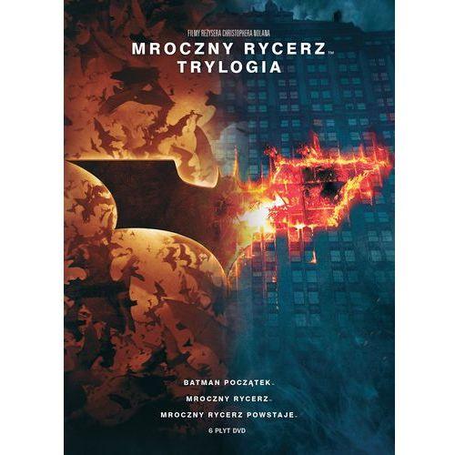 Mroczny rycerz. trylogia (6 dvd) marki Christopher nolan