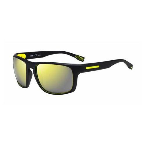 Okulary Słoneczne Boss by Hugo Boss Boss 0800/S Polarized UDK/C4, kolor żółty