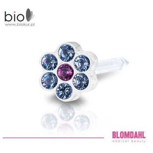 Kolczyk do przekłuwania uszu - daisy alexandrite / rose 5 mm marki Blomdahl