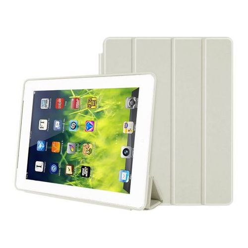 Etui smart case do apple ipad 2 3 4 białe - biały marki 4kom.pl