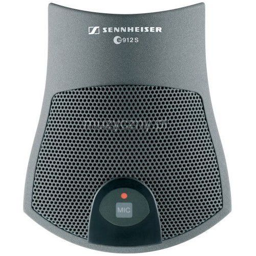 Sennheiser e-912 s-bk mikrofon pojemnościowy, ″pół-kardioida″ z wyłącznikiem (czarny)
