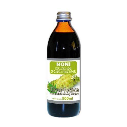 Eka Medica Noni 100% sok z polinezji francuskiej 500ml, EKO MEDICA
