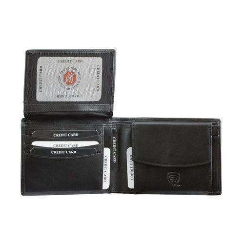 ✅ portfel chroniący karty zbliżeniowe rfid monety dowód rejestracyjny marki Koruma®