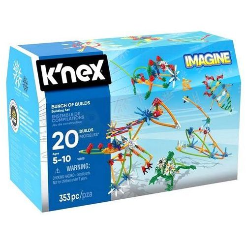 Knex Imagine Klocki Konstrukcje 353 el. K'nex 8182