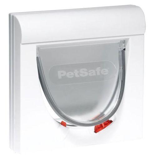 PetSafe Drzwiczki magnetyczne dla kota z 4 opcjami Classic 932, biały, 5032