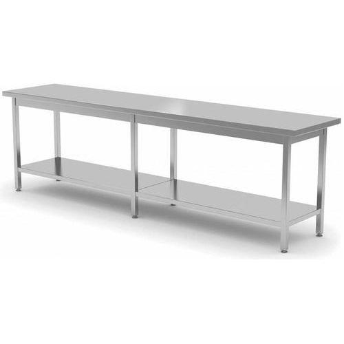 Stół centralny z półką | szer: 2000-2800mm|gł. 800 mm marki Polgast