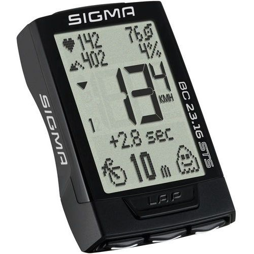 Sigma bc 23.16 sts cad puls - licznik rowerowy marki Sigma sport